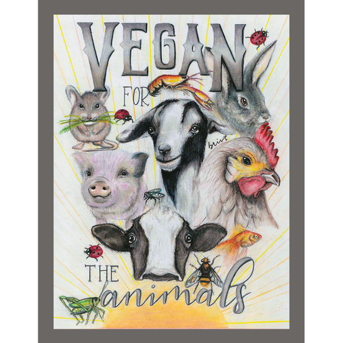 Vegan for the Animals - Bri VT