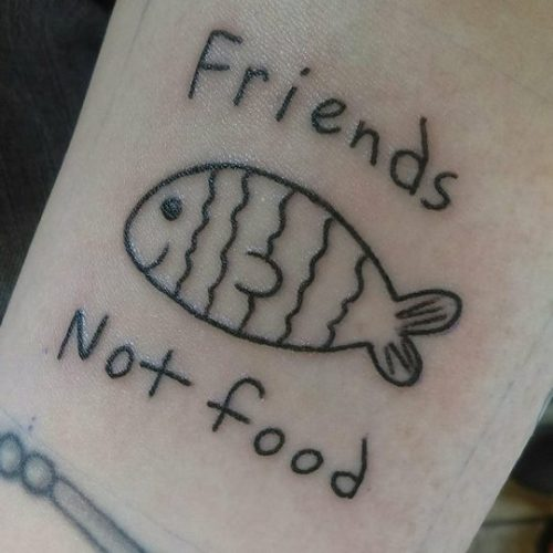 Friends Not Food - Bessie VonMessenger