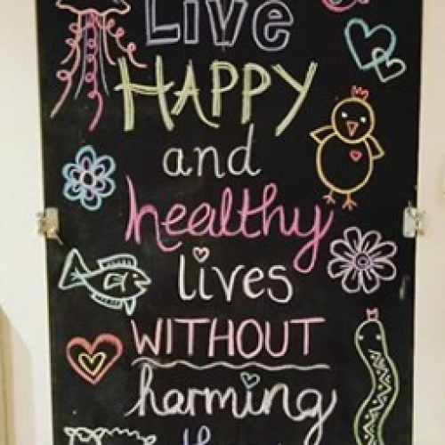 Live Happy and Healthy Lives Without Harming Others - Jessica Henderson