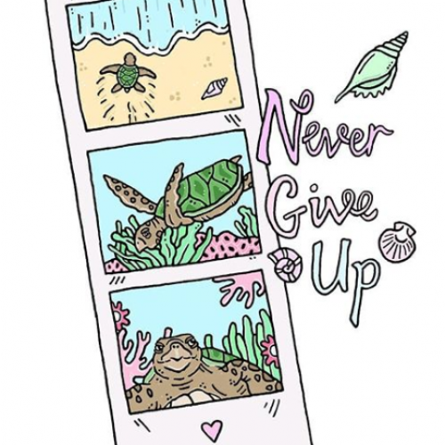 Never Give Up - Jessica Henderson