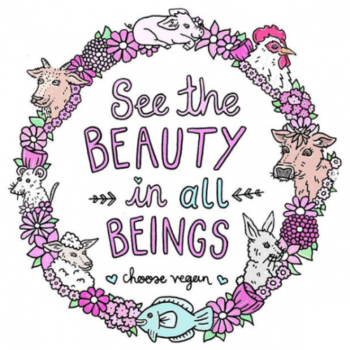See the Beauty in All Beings, Choose Vegan - Jessica Henderson