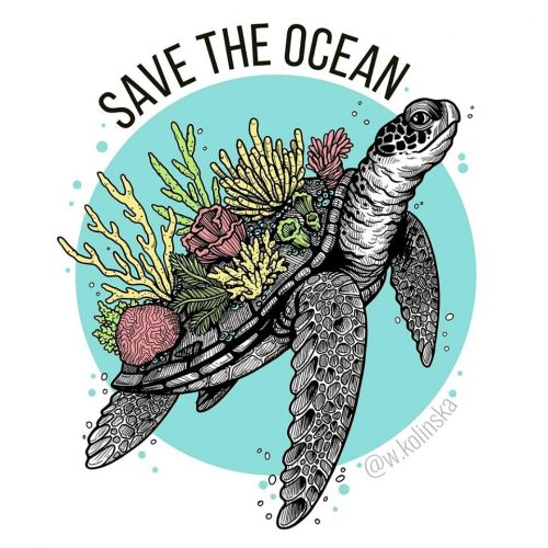 Save the Ocean - Weronika Kolinska