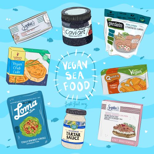 Vegan Sea Food - Jessica Henderson