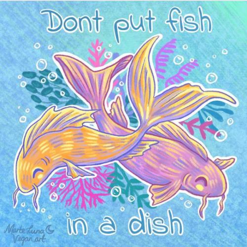 Don't Put Fish In A Dish - Marte Luna