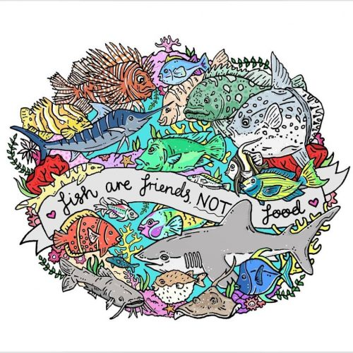 Fish are Friends, Not Food - Jessica Henderson