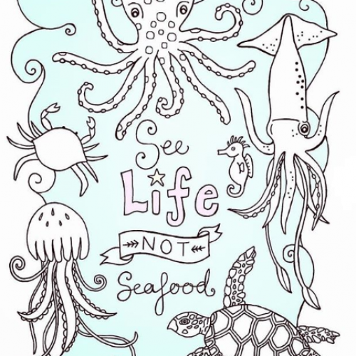 See Life Not Seafood - Jessica Henderson