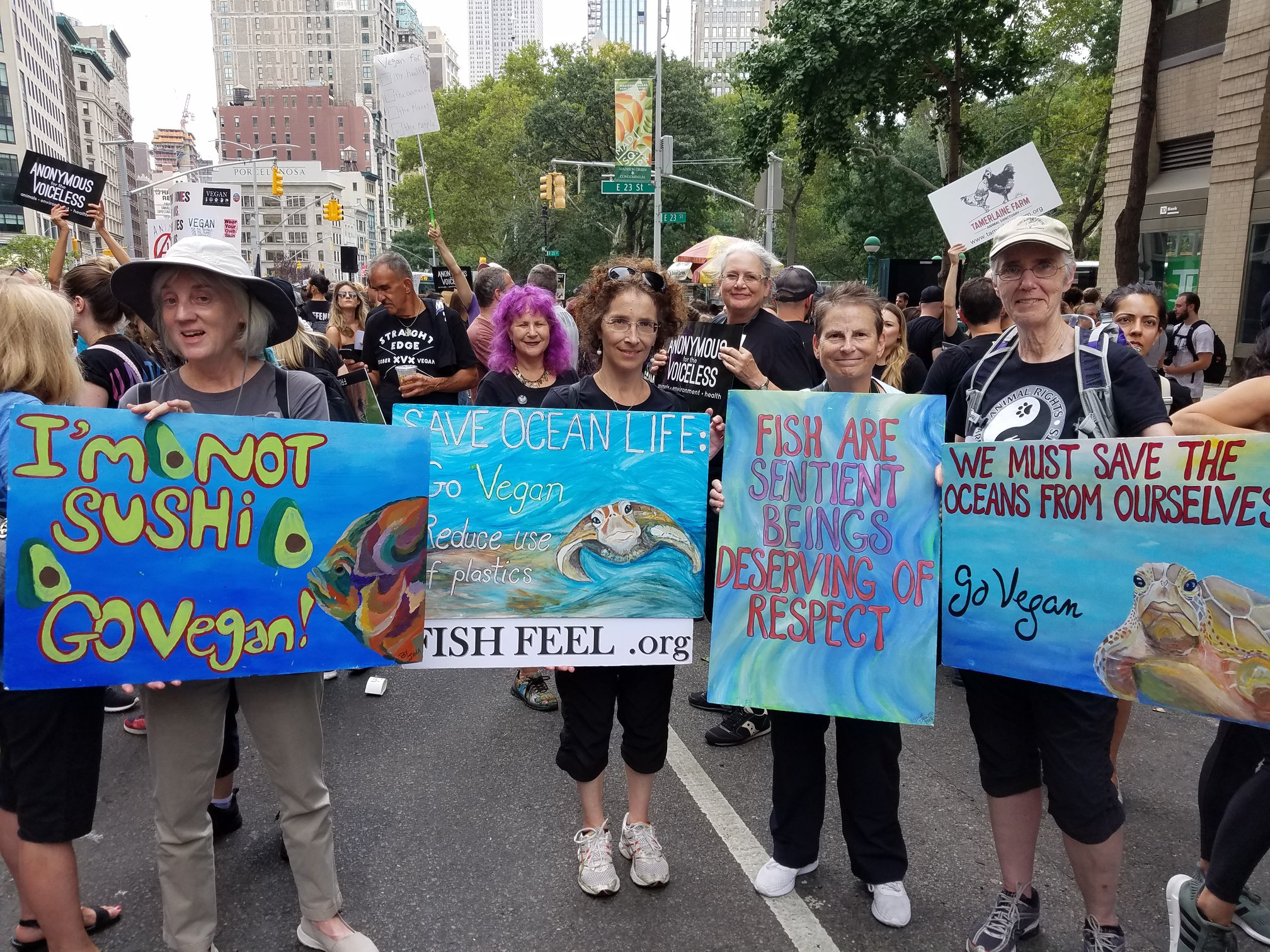 Save the Oceans - New York Animal Rights March